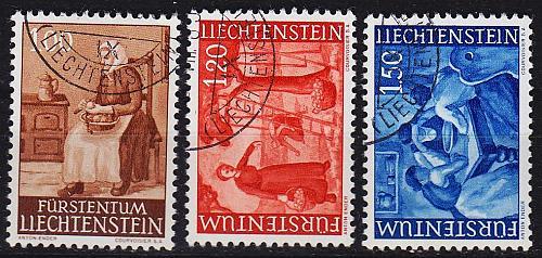 LIECHTENSTEIN [1960] MiNr 0395-97 ( O/used )