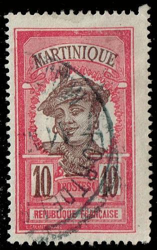 Martinique **U-Pick** Stamp Stop Box #149 Item 02  USS149-02