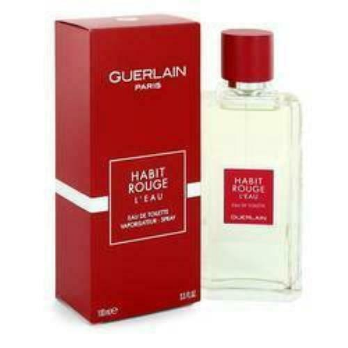 Habit Rouge L'eau Eau De Toilette Spray By Guerlain