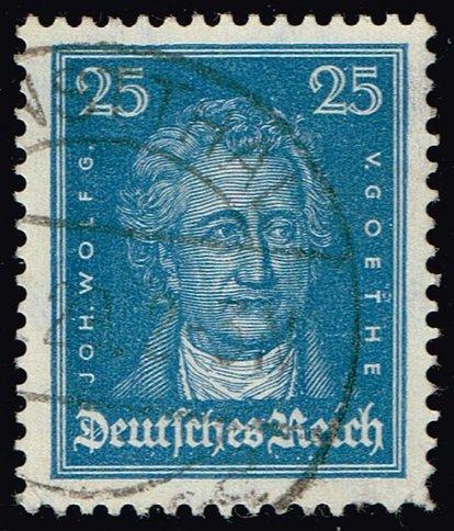 Germany #358 Johann Wolfgang von Goethe; Used (3Stars) |DEU0358-02XRS