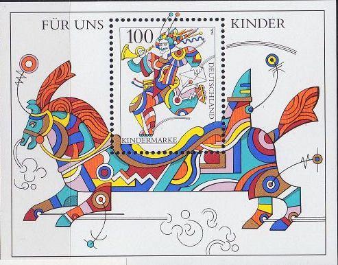 GERMANY BUND [1996] MiNr 1853 Block 35 ( **/mnh )