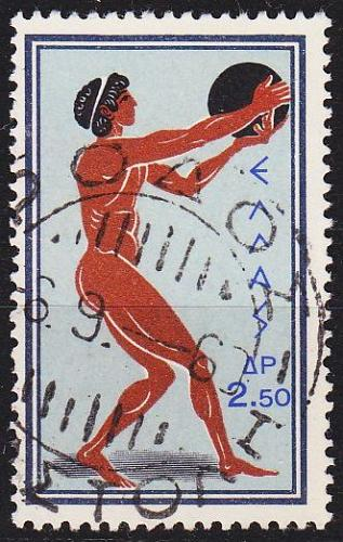 GRIECHENLAND GREECE [1960] MiNr 0740 ( O/used ) Olympiade