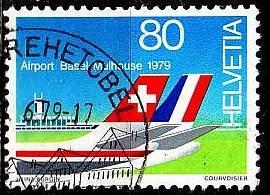 SCHWEIZ SWITZERLAND [1979] MiNr 1153 ( O/used ) Flugzeuge