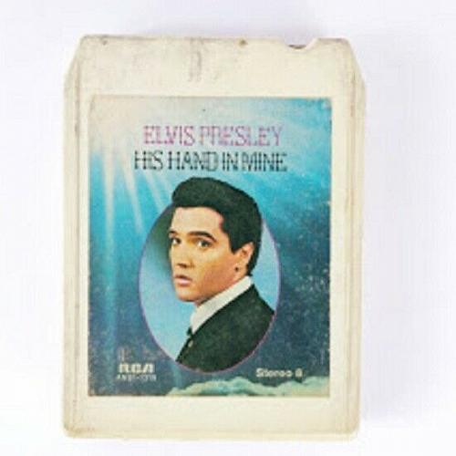 Elvis Presley His Hand In Mind (8-Track Tape, ANS1-1319)