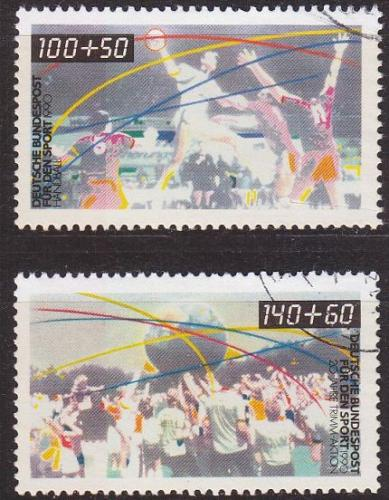GERMANY BUND [1990] MiNr 1449-50 ( O/used ) Sport