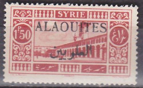 ALAWITEN ALAOUITES [1925] MiNr 0032 b ( oG/no gum )