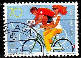 SCHWEIZ SWITZERLAND [1983] MiNr 1258 ( O/used ) Sport