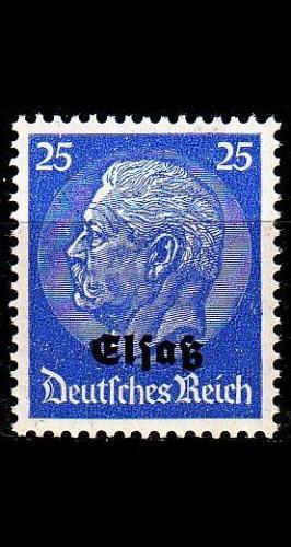 GERMANY REICH Besetzung [Elsass] MiNr 0010 ( **/mnh )