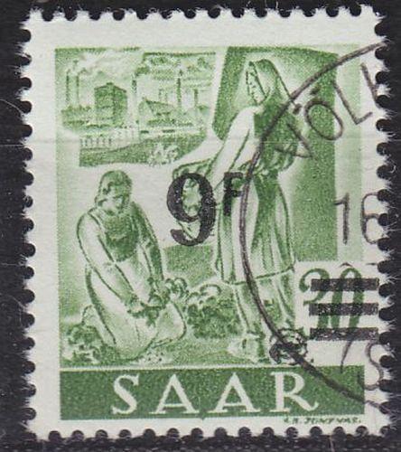 GERMANY Saar [1947] MiNr 0234 II ( O/used )