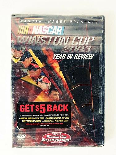Nascar Winston Cup 2003 Year In Review DVD Brand New Sealed