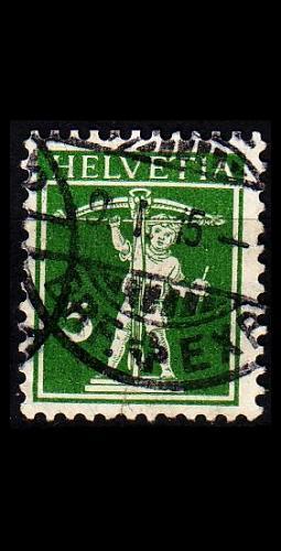 SCHWEIZ SWITZERLAND [1909] MiNr 0113 II ( O/used ) [01]