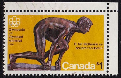 KANADA CANADA [1975] MiNr 0585 ( O/used ) Olympiade