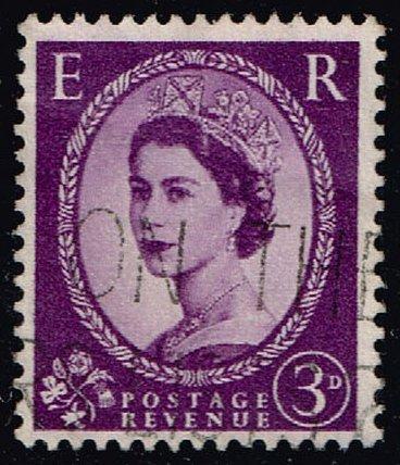 Great Britain #358 Queen Elizabeth II; Used (0.25) (0Stars) |GBR0358-05XVA
