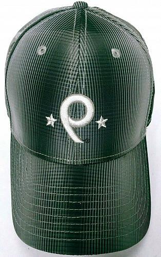Back Nine Men's Black Gray Golf Baseball Cap Strapback Hat Adjustable