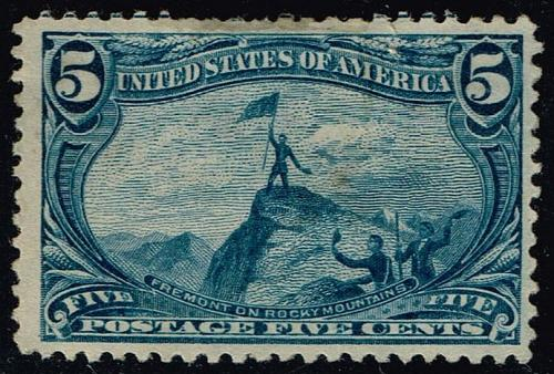 US #288 Fremont on the Rocky Mts.; Unused NG (1Stars) |USA0288-03XRP