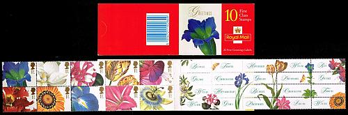 Great Britain #1722a Booklet Pane of 10; MNH (14.50) (5Stars)  GBR1722a-01XVA