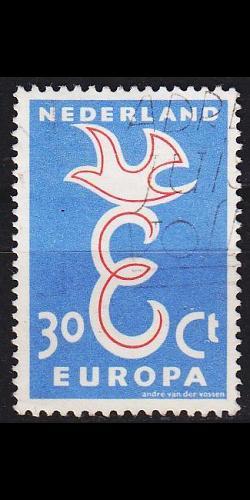 NIEDERLANDE NETHERLANDS [1958] MiNr 0719 ( O/used ) CEPT