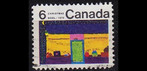 KANADA CANADA [1970] MiNr 0469 y ( O/used ) Weihnachten