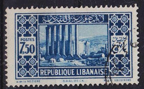 LIBANON LEBANON LIBAN [1930] MiNr 0180 I ( O/used )