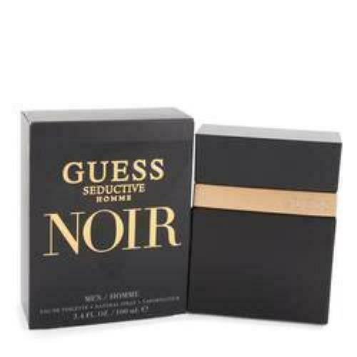 Guess Seductive Homme Noir Eau De Toilette Spray By Guess