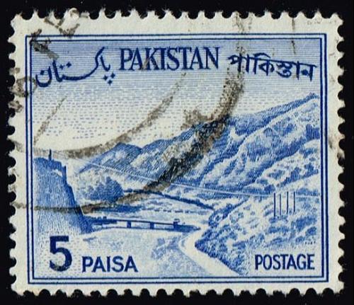 Pakistan #132b Kyber Pass; Used (2Stars) |PAK0132b-08XVA