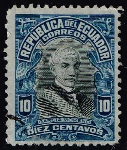 Ecuador #210 Garcia Moreno; Used (2Stars) |ECU0210-02
