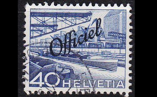 SCHWEIZ SWITZERLAND [DienstBund] MiNr 0071 ( O/used ) [01]