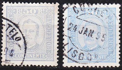PORTUGAL [1892] MiNr 0071 yB ( O/used ) [01]