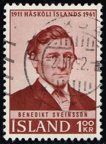Iceland #342 Benedikt Sveinsson; Used (0.25) (3Stars) |ICE0342-01XRS