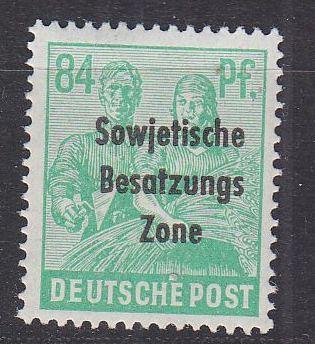 GERMANY Alliiert SBZ [Allgemein] MiNr 0197 ( **/mnh )
