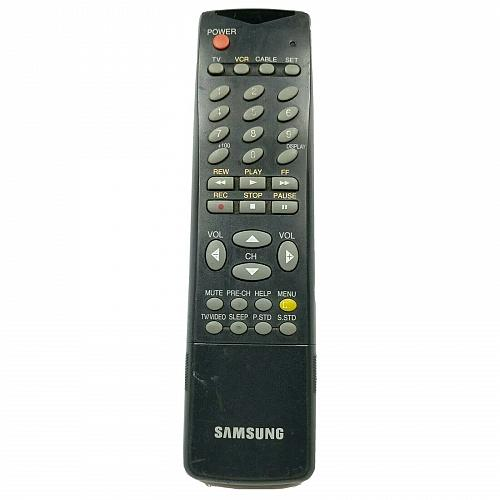 Samsung TV VCR Remote Control AA59-10083S Tested and Works