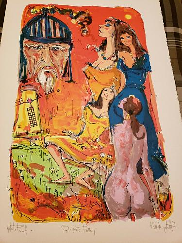 A.C. Hollingsworth- Artist Proof Signed Lithograph- Quixote's Fantasy