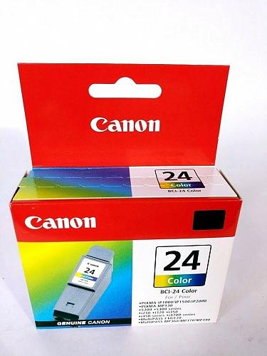 Canon BCI-24 Color Ink Cartridge Brand New Sealed