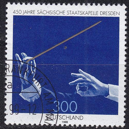 GERMANY BUND [1998] MiNr 2025 ( O/used )