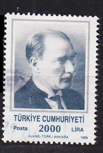 TÜRKEI TURKEY [1989] MiNr 2862 C ( O/used )