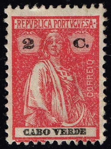 Cape Verde #177 Ceres; Unused (1Stars)  CPV0177-03XRS
