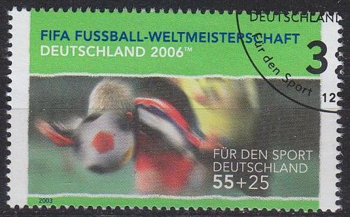 GERMANY BUND [2003] MiNr 2327 ( O/used ) Fußball