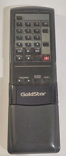 Goldstar TV VCR 5970011 Remote Control