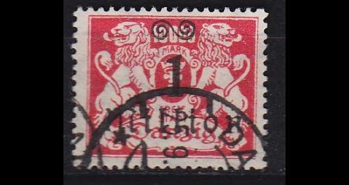 GERMANY REICH Danzig [1923] MiNr 0164 ( OO/used )