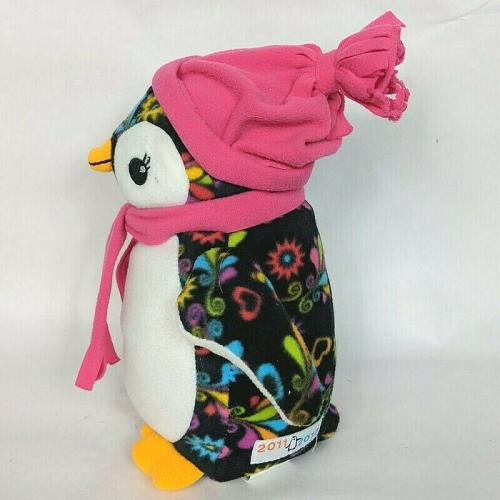 """ABC Bakers Girl Scout Penguin Scarf Hat Plush Stuffed Animal 2011-2012 11"""""""