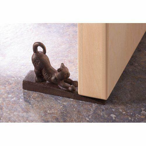 Stretching Cat Door Stopper