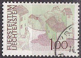 LIECHTENSTEIN [1972] MiNr 0576 ( O/used ) Landschaft