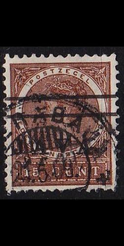 NIEDERLANDE NETHERLANDS Indien [1908] MiNr 0070 ( O/used )