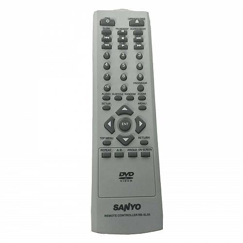 Genuine Sanyo DVD Remote Control RB-SL50 Tested Works