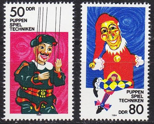GERMANY DDR [1984] MiNr 2876-77 ( **/mnh )