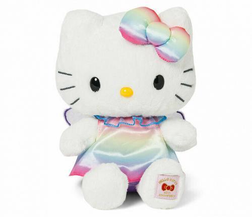NEW Sanrio Hello Kitty 45th Anniversary Memorial Plush Doll Fairy Free Shipping