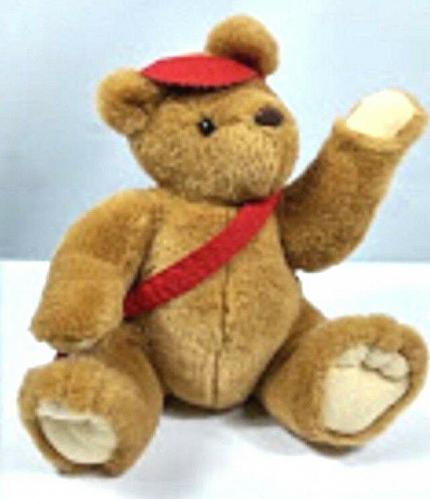 "Hallmark Postbear Express Plush Stuffed Animal 12"""