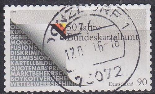 GERMANY BUND [2008] MiNr 2655 ( O/used )