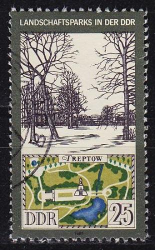 GERMANY DDR [1981] MiNr 2615 ( OO/used ) Landschaft