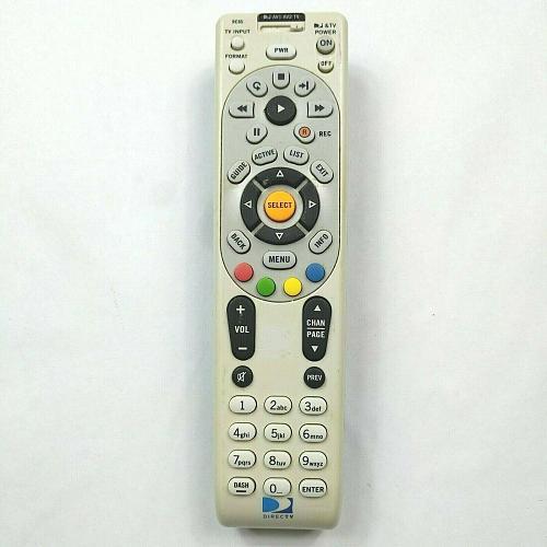 Genuine DirecTV Universal Remote Control RC65 Tested Works